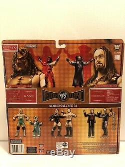 Signed Kane & Undertaker Exclusive WWE Jakks Classic Deluxe Figures Autograph