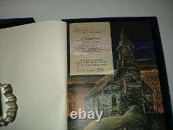 Signed Night Shift The Deluxe Special Edition Traycase Cemetery Dance 552/750