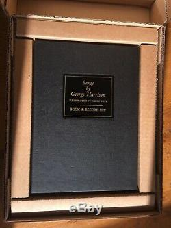 Songs By George Harrison Vol 2 Deluxe Genesis Publications Beatles Book Signed
