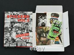 Space Invader Signed Sticker Sheet w Stuck Up Store STICKERS Vol 2 DELUXE SET