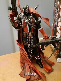 Spawn 12 Delux Action Figure Issue #7 Cover Art. Box signed by McFarlane