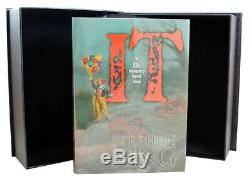 Stephen King IT Signed Limited Deluxe Edition 25th Anniversary Illustrated VF