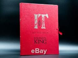 Stephen King IT Signed Limited Deluxe Edition 25th + Artwork Portfolio Matching