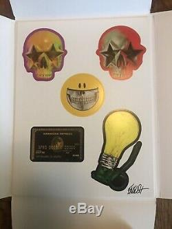 Stuck Up Deluxe Sticker Book Signed Invader Fairey Swoon Ron English Limited 200