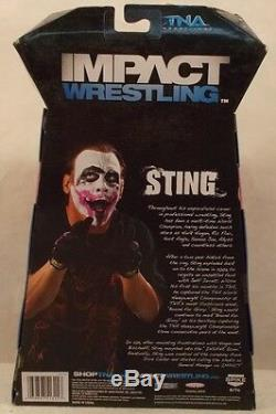 TNA Deluxe Impact Wrestling Exclusive Autographed Joker Sting WWE NWA WCW