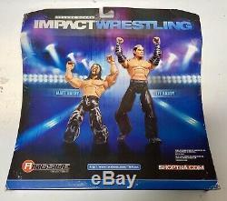 TNA Impact Wrestling Jeff & Matt Hardy Deluxe 2-Pack Autographed By Matt