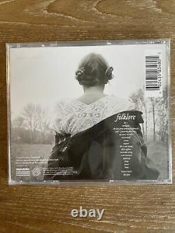 Taylor Swift Folklore Signed Autographed Deluxe CD Limited Edition In The Trees