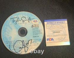 Taylor Swift Signed Taylor Swift CD Deluxe CD Our Song Psadna Authentic #ah48828