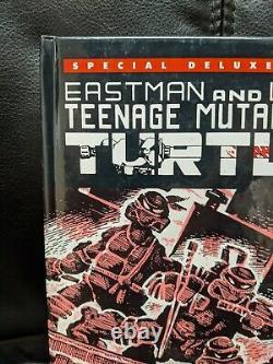 Teenage Mutant Ninja Turtles #1 hardcover deluxe edition signed Eastman & Laird