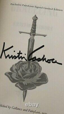 The Graceling Deluxe Quartet Signed Fairy loot by KRISTIN CASHORE