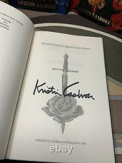 The Graceling Realm Deluxe Set Signed Fairyloot Editions by Kristin Cashore