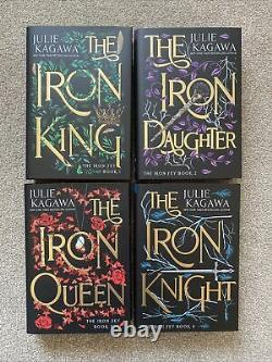 The Iron Fey by Julie Kagawa SIGNED DELUXE SET FairyLoot Exclusive