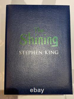 The Shining Deluxe Limited Edition By Stephen King Signed