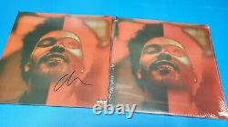 The Weeknd After Hours Deluxe Edition Autographed Signed Album Vinyl RARE