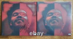 The Weeknd After Hours Deluxe Lp Vinyl Record Signed Autographed Autograph