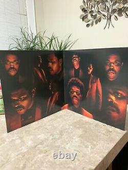 The Weeknd After Hours Signed Collectors Deluxe Edition Splatter Vinyl