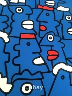 Thierry Noir Fast Form Manifest SIGNED ed. 50 (2016) Grand format