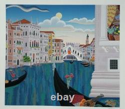 Thomas McKnight print, Grand Canal, Venice
