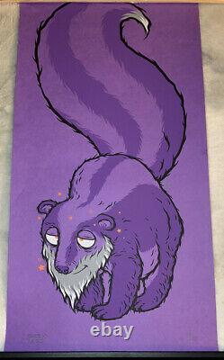Todd Bratrud Grand Daddy Skunk Print 33/50