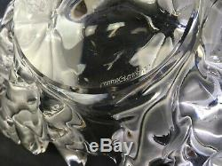 VTG FRENCH LALIQUE GRAND CHAMPS ELYSEES CENTER PIECE 18 Lead Crystal BOWL