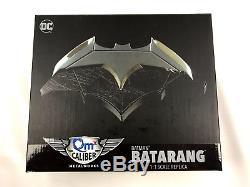 Val Kilmer Signed Batman Datarang Deluxe 1 Scale Replica Autograph BAS COA