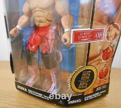 WWE Dynamite Kid Jakks Deluxe Classics wrestling figure SIGNED