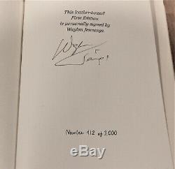 Waylon Jennings hand signed Deluxe Edition autobiography book