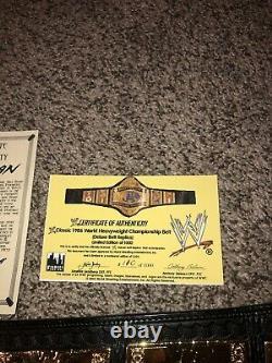Wwf Wwe Hulk Hogan Autographed 1986 Vintage Figs Inc Deluxe 110/1000 Hogan Coa