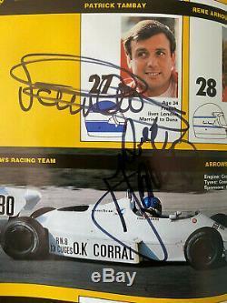1983 Programme Européen Marques Grand Prix Signé Par 23 Alboreto, De Angelis, Lauda