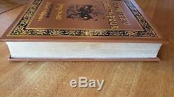 1984 George Orwell Nineteen Eighty Four Easton Press Cuir Deluxe Limitée