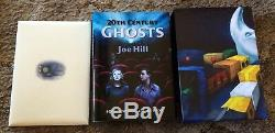 20e Siècle Fantômes 10e Anniv Joe Hill Deluxe 200 Copies Dûment Signées / Ltd Slipcased