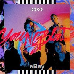 5 Secondes De L'été 5sos Youngblood Deluxe Avec Autographié CD Insérez