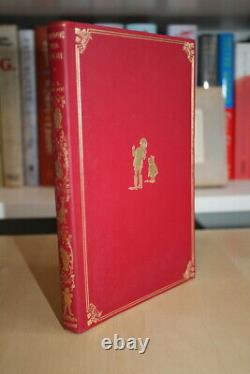 A. A. Milne (1926)'winnie-the-pooh', Royaume-uni Signé Première Édition De Luxe, Cuir Rouge