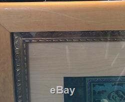 A Deluxe Toison D'or Par Carl Barks Sur Bois Signé Par Carl Barks