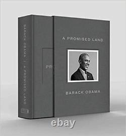 A Promised Land Deluxe Edition Signé Autographié Président Barack Obama
