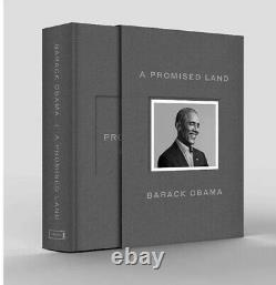 A Promised Land Deluxe Signé Edition Président Barack Obama