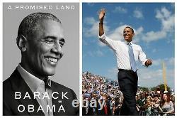 A Promised Land Deluxe Signé Edition Président Barack Obama Same Day Ship