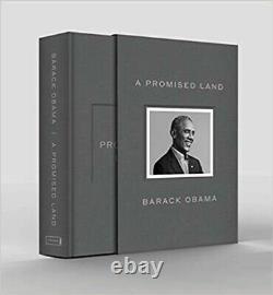 A Promised Land Deluxe Signed Edition Book Par Le Président Barack Obama Confirmé