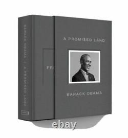 A Promised Land Deluxe Signed Edition Hardcover Book Par Le Président Barack Obama