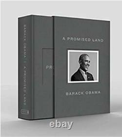 A Promised Land Deluxe Signed Edition Hardcover Book Par Le Président Obama Scellé