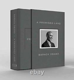 A Promised Land Deluxe Signed Edition Par Barack Obama New & Sealed In Hand