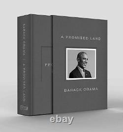 A Promised Land Deluxe Signed Edition Par Barack Obama (hardcover) Autographié