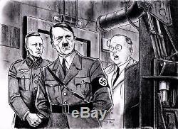 Adolf Hitler Dans Oz Rare Limited Edition Deluxe & Numéroté Relié Signé Baum