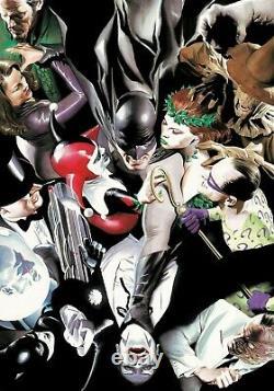 Alex Ross Signait Joker's Reckoning Giclee Sur Canvas Edition Limitée De 75 DLX