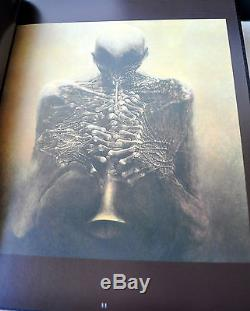 Art Fantastique De Cuir Beksinski Deluxe Ltd Ed 1/150 Avec Signé Litho Uber Rare