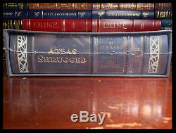 Atlas Shrugged Par Ayn Rand New Sealed Easton Press Cuir Deluxe Limitée 1/1200