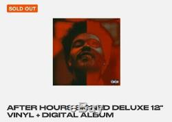 Autographiés A Signé Le Weeknd Deluxe Vinyl After Hours Withdigital Sold Out