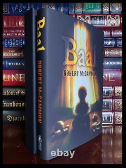 Baal Signed Par Robert Mccammon Subterranean Press Deluxe Limited Hardback 1/224