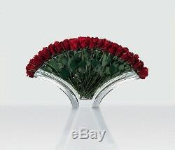 Baccarat Cristal Ginkgo Grand-vase De Fleurs