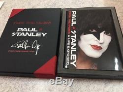 Baiser Paul Stanley Main Signé Livre À Couverture Rigide Deluxe Box Set Coa Limited Edition